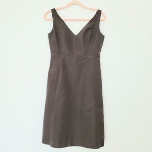 J Crew Olive Green Casual Chic Sleevless Dress
